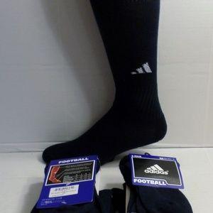 NWT adidas 10 Pairs long Football Socks Medium